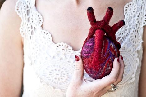 Kuscheliges Herz